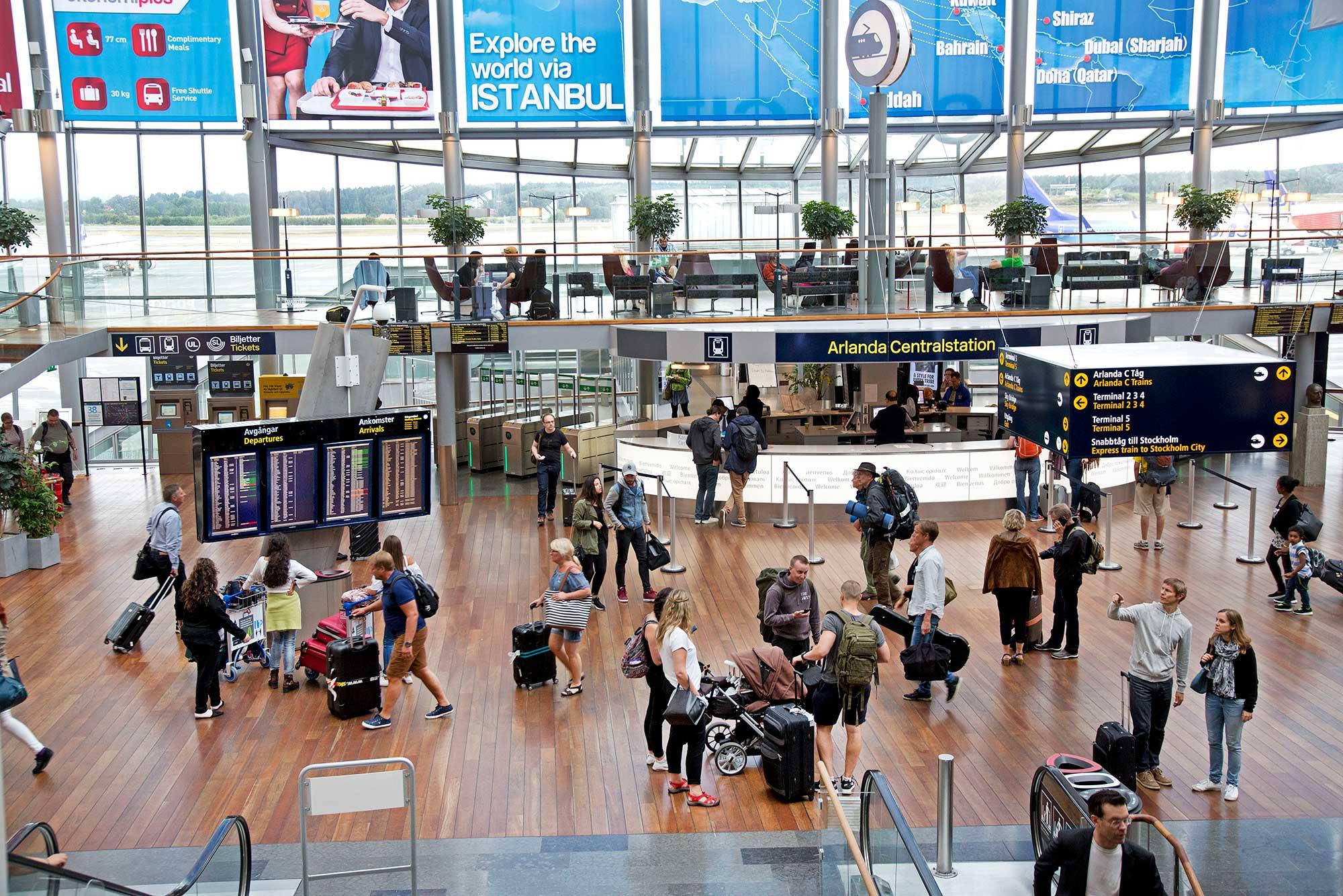 Arlandabanan Arlanda Centralstation