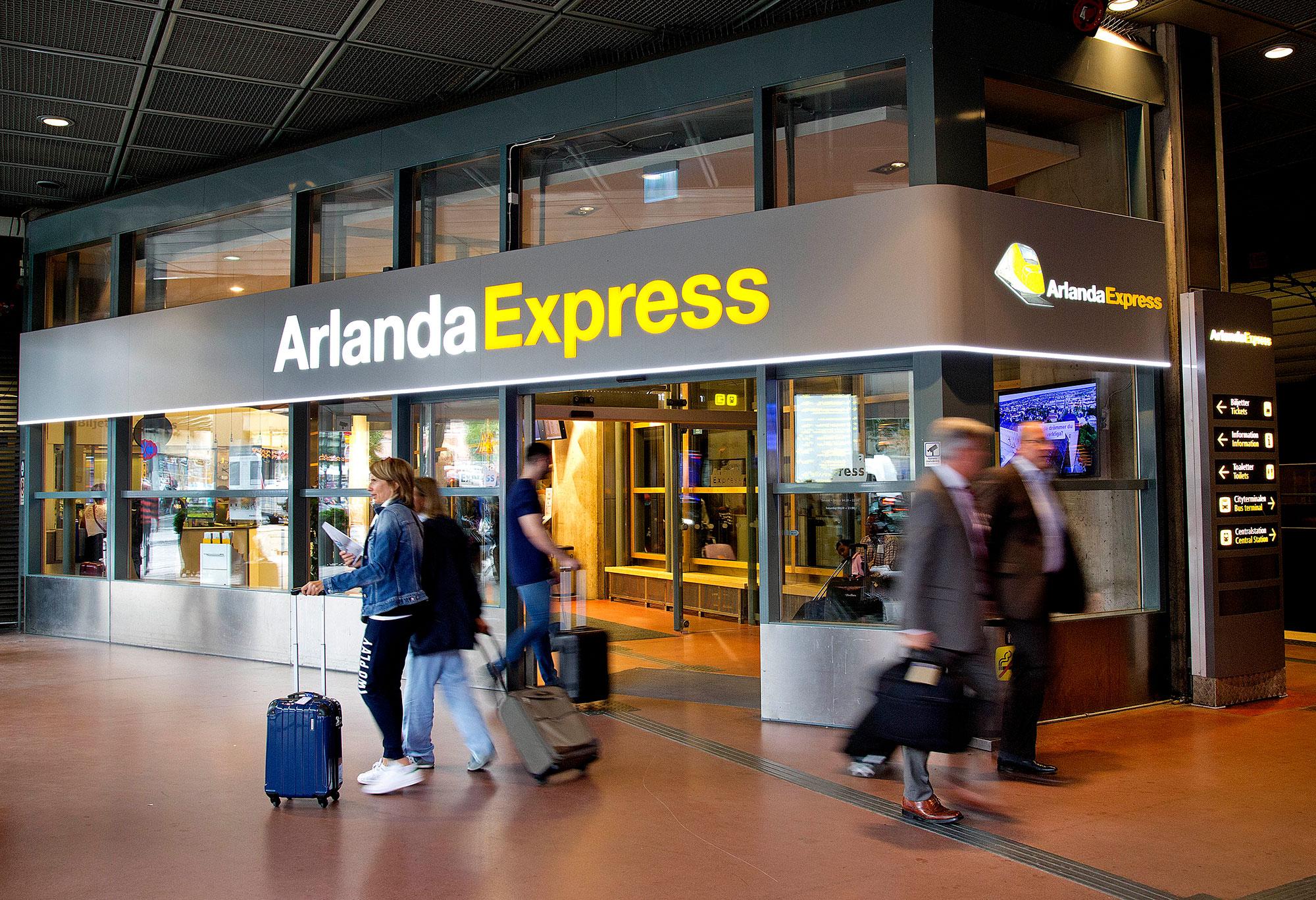 Karta Over Arlanda Flygplats.Om Arlandabanan Arlandabanan Infrastructure